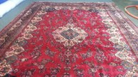 Persian Rug with Dye Bleed - Courtesy of Running River Rug Cleaning, NY