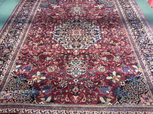 Absolutely beautiful. Persian rug after cleaning by Master Cleaner and IICRC instructor Doug Heiferman proprietor at www.runningriverrugcleaning.com